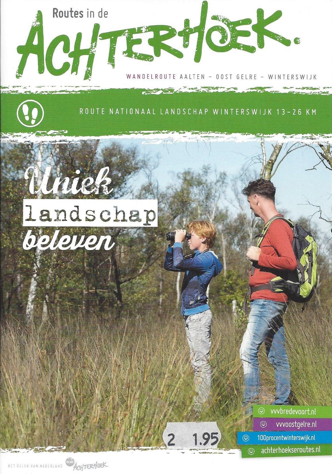 Wandelroute Nationaal Landschap Winterswijk