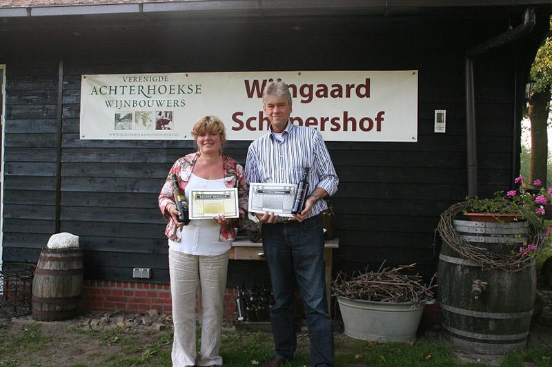 Wijngaard, siertuin en vakantiewoning Schepershof